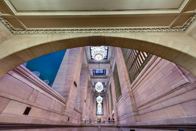 Grand Central -Anschluss- NYC lizenzfreies stockfoto