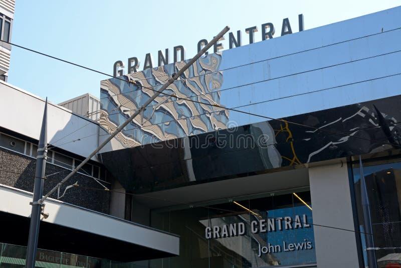 Grand Central Entrance, Birmingham. royalty free stock photos