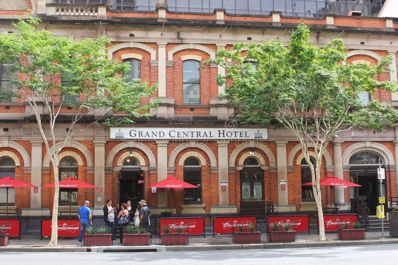 Old grand central hotel brisbane australia editorial for Design hotel queensland