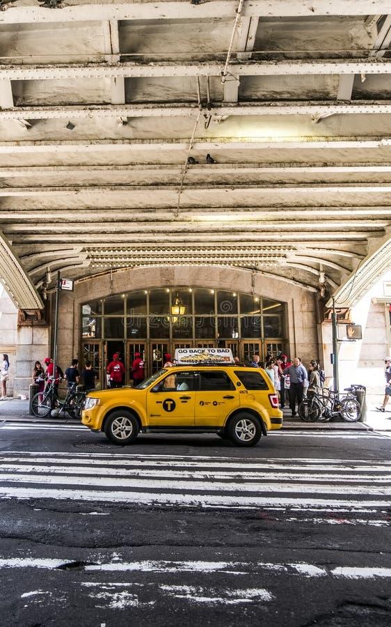 Grand Central le long de quarante-deuxième rue, New York City photos libres de droits