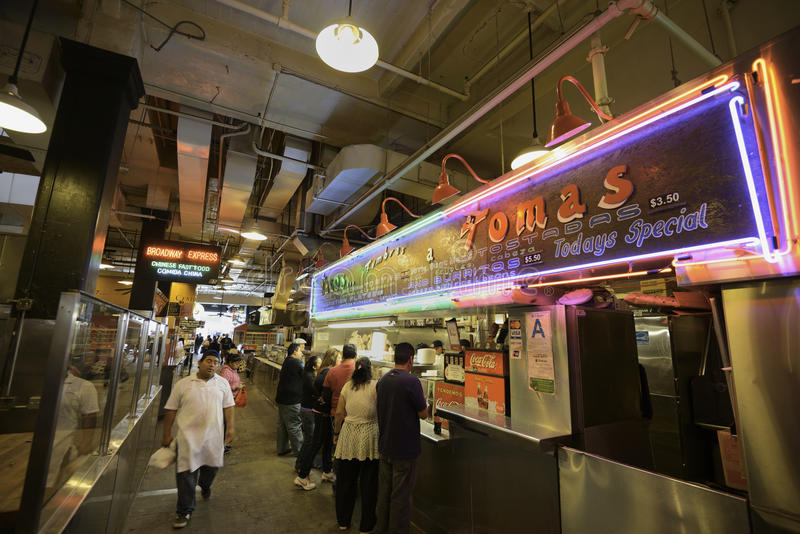 Grand Central Market stock photography
