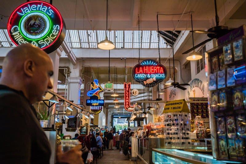 Grand Central Market interior royalty free stock photo