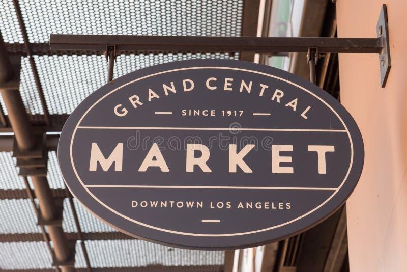 Grand Central -Marktteken stock afbeelding