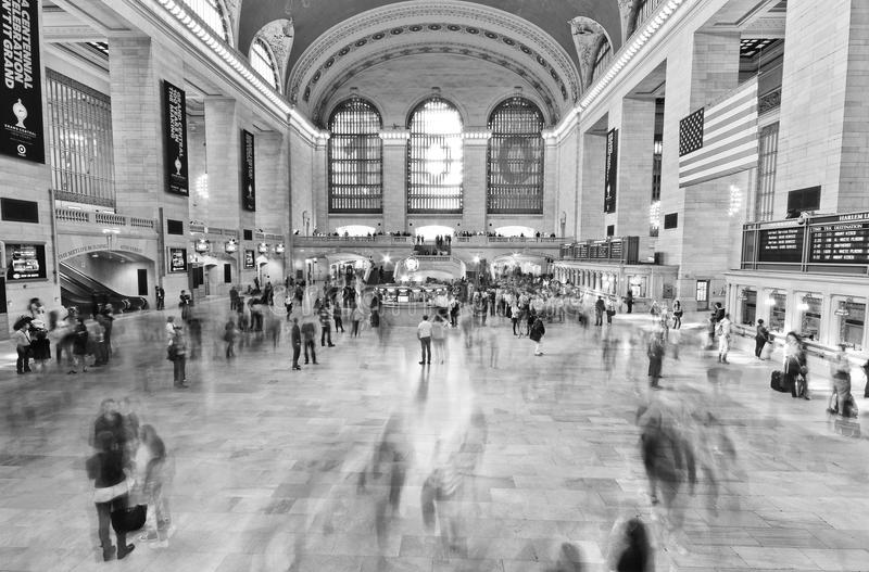 Grand Central station i Manhattan, New York City royaltyfri bild