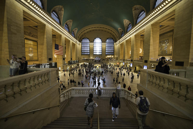Grand central station, New York City, Manhattan on 8 september 2 royalty free stock photography