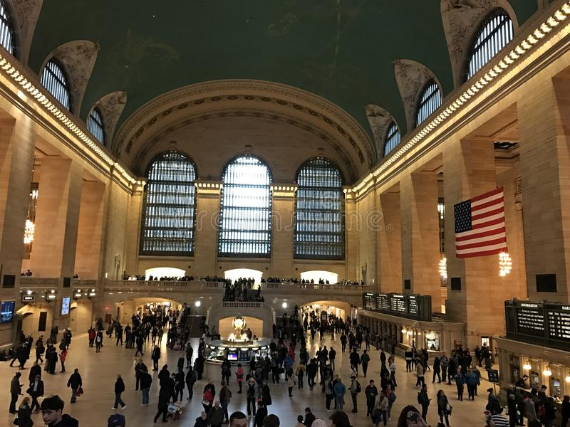 Grand Central station, NY arkivfoto