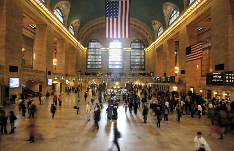Grand Central Station, USA, New York, City stock images