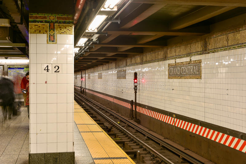 Grand Central Subway Station - New York City royalty free stock image