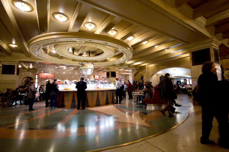 Grand Central Terminal Food Court Editorial Photo