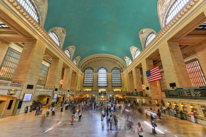 Grand Central Terminal Main Lobby - New York royalty free stock photography