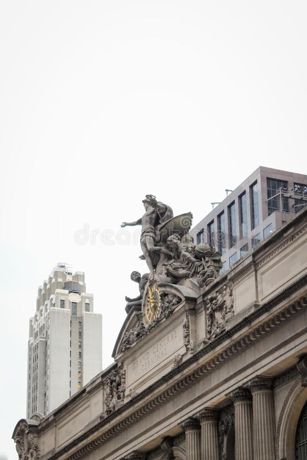 Grand Central Terminal in Manhattan. stock image