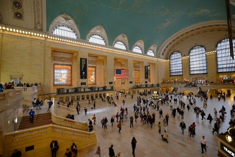 Grand Central Terminal, New York City. Interior of Main Concourse in Grand Central Terminal, Manhattan, New York City, USA stock image