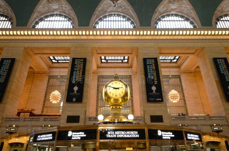 Grand Central Terminal, New York City. Interior of Main Concourse in Grand Central Terminal, Manhattan, New York City, USA stock images