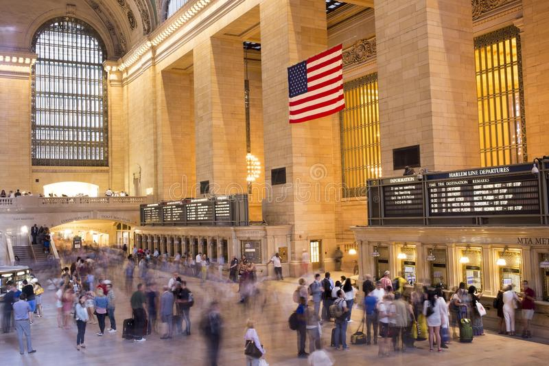 Grand Central Terminal in New York City. royalty free stock image