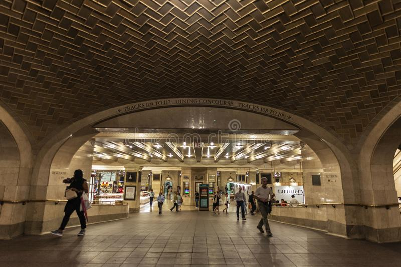 Grand Central Terminal in New York City, USA royalty free stock photos