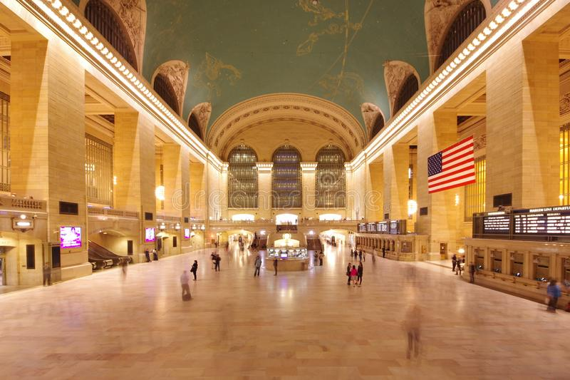Grand Central Terminal in New York royalty free stock photos