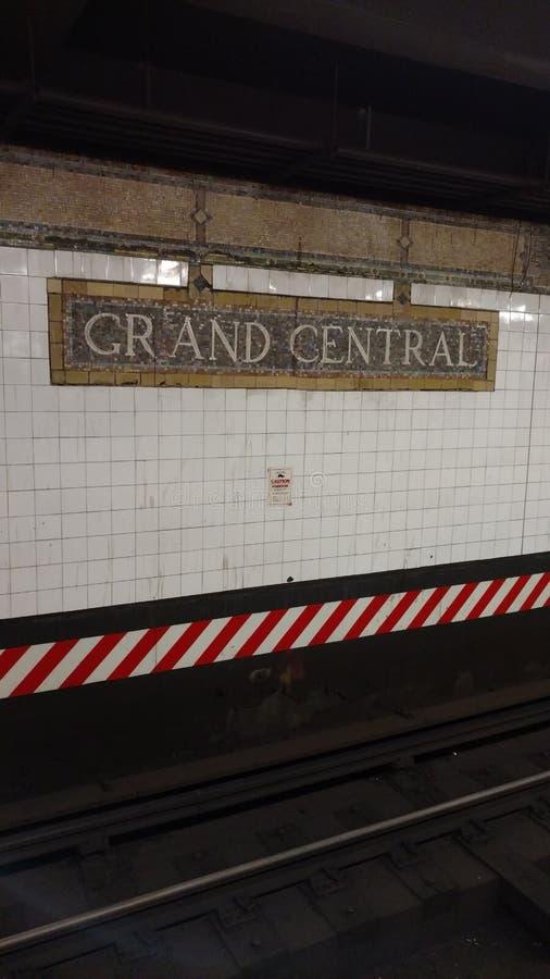 Grand Central -U-Bahn stockfotografie