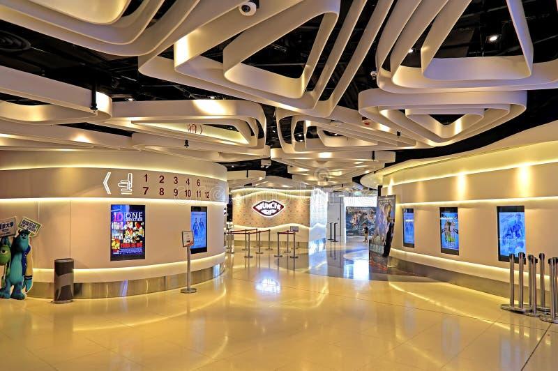 grand cinema complex  hong kong editorial stock image