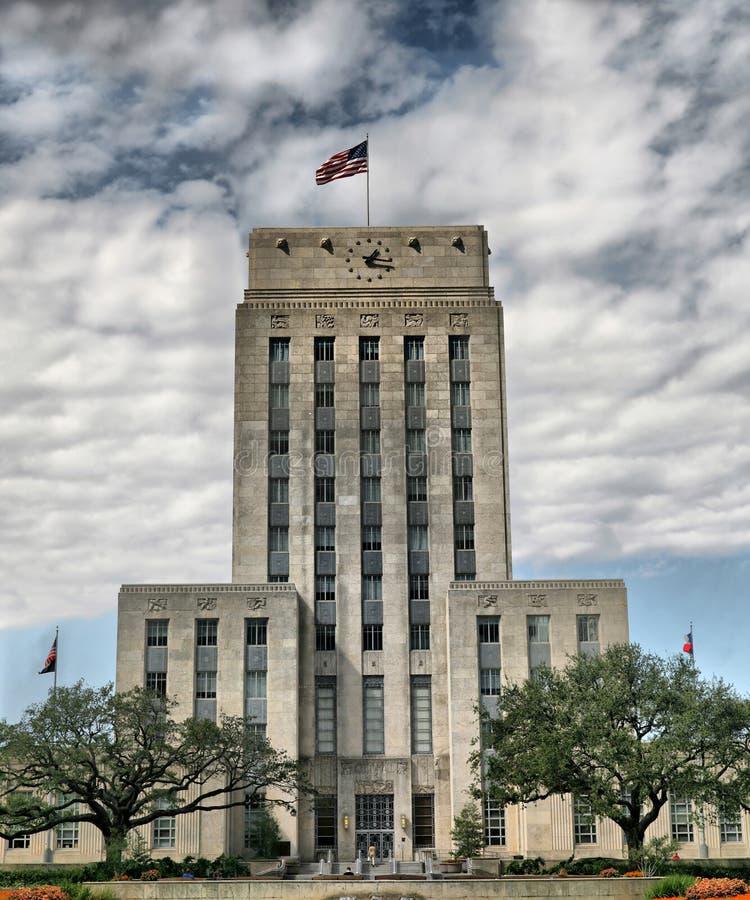 Grand City Hall stock photo