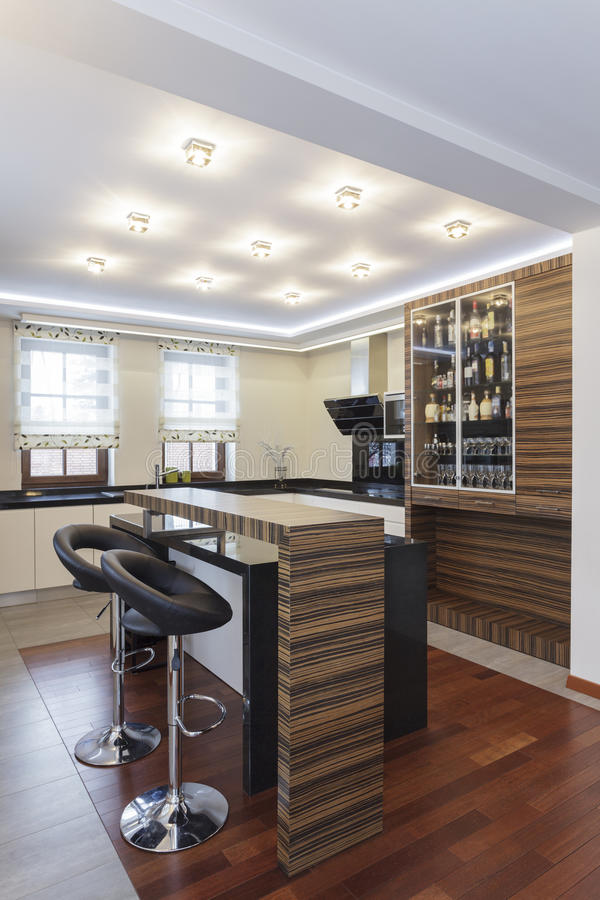 Grand design - Kitchen stock image