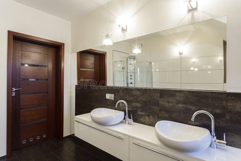Grand design - wash basin royalty free stock photos