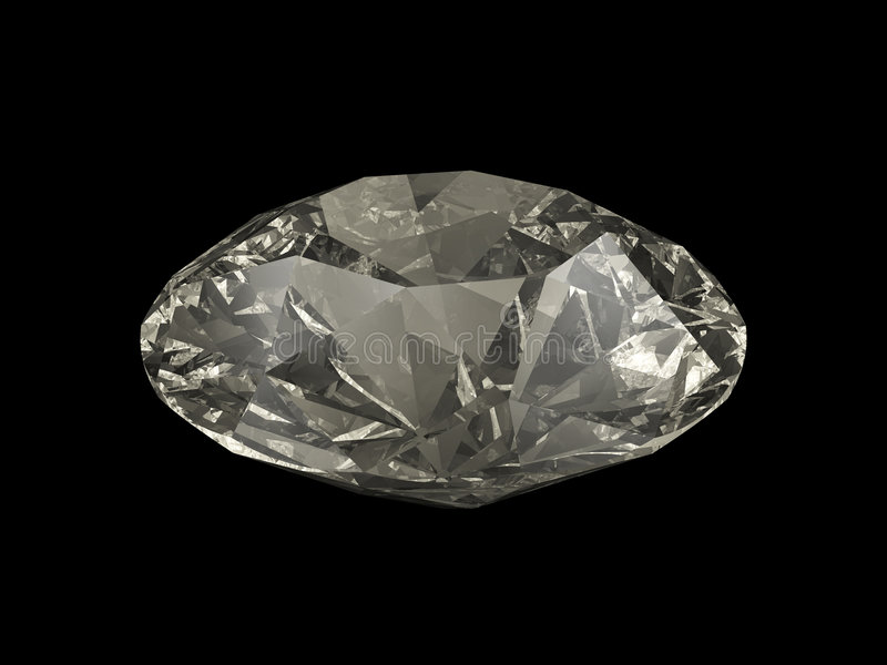 Grand diamant image stock