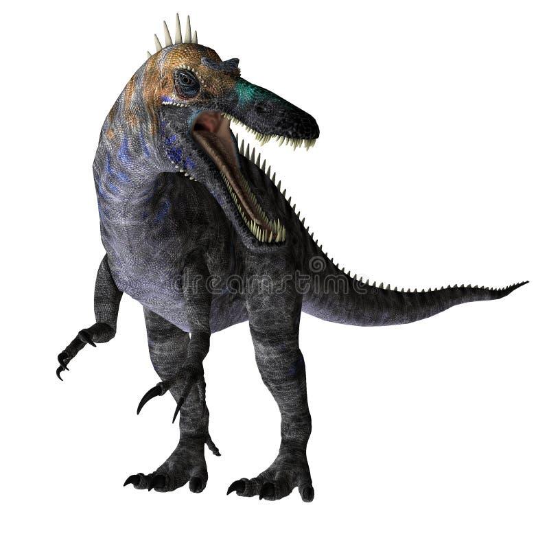 Grand dinosaur illustration de vecteur