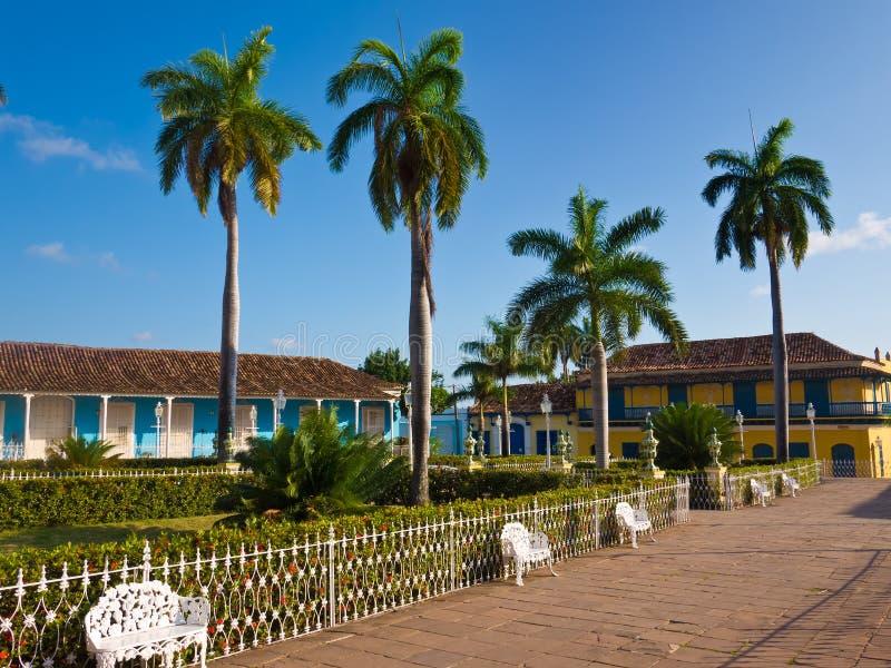Grand dos central au Trinidad, Cuba photo stock