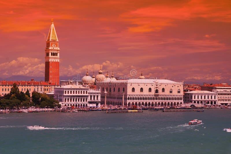 Grand dos central de Venise photos libres de droits