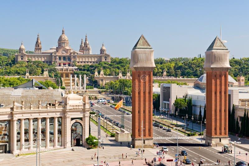 Grand dos d'Espanya à Barcelone photographie stock libre de droits