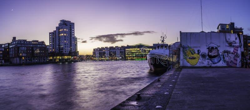Grand dos de canal grand, Dublin photo libre de droits