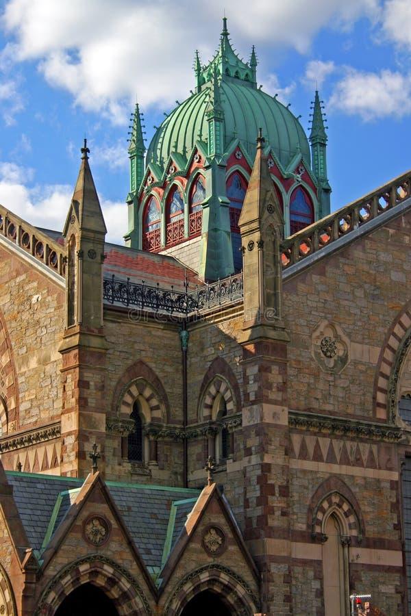 Grand dos de Copley, Boston images libres de droits