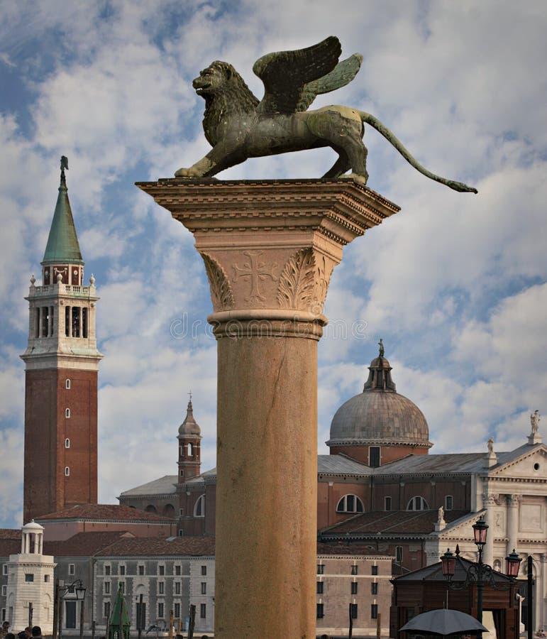 grand dos de marco de san, Venise photographie stock