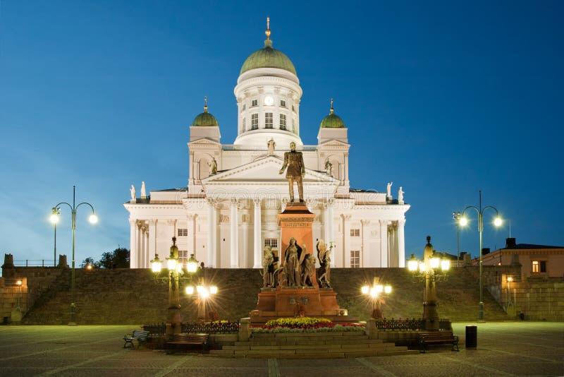 Grand dos de sénat à Helsinki photographie stock libre de droits