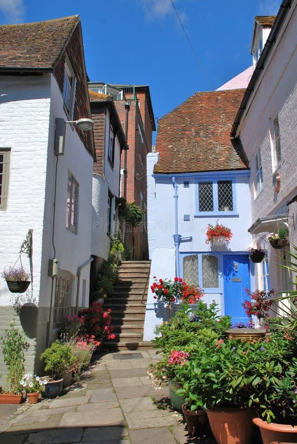 Grand dos de Sinnock, Hastings photo stock