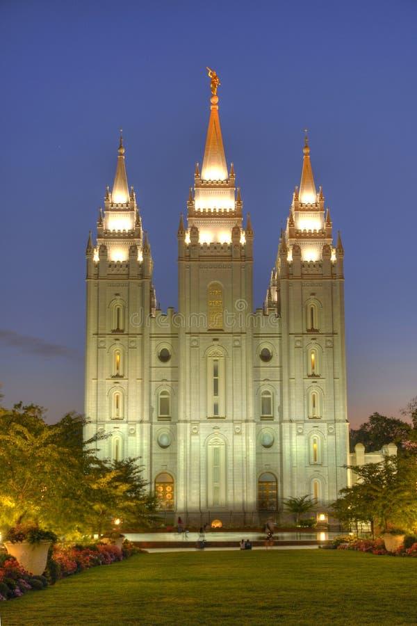 Grand dos de temple image libre de droits