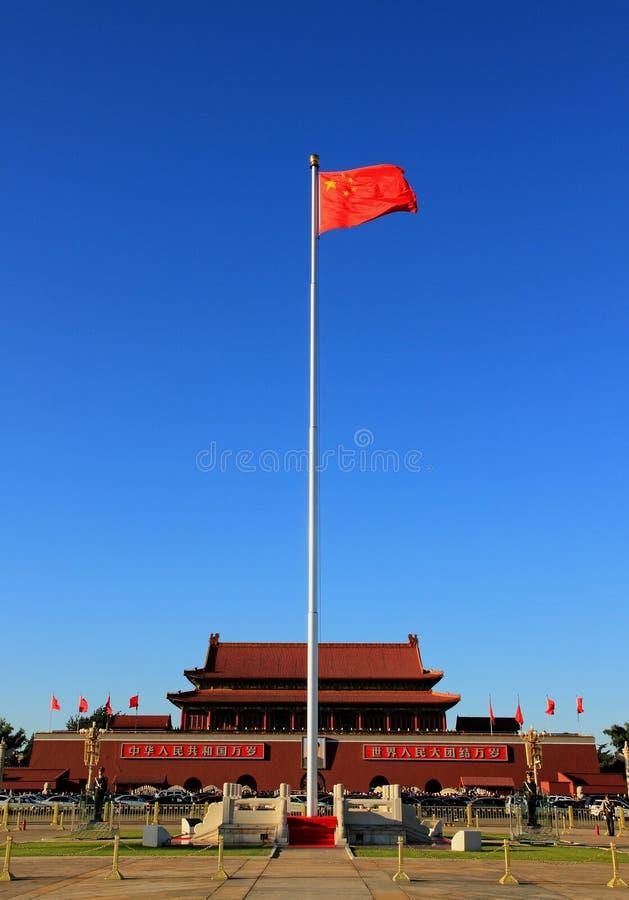 Grand dos de Tiananmen dans Pékin photos stock