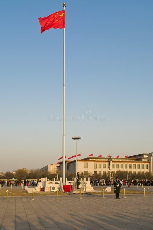 Grand dos de Tienanmen photo stock