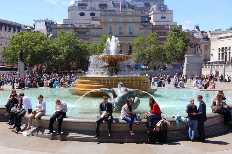 Grand dos de Trafalgar image libre de droits