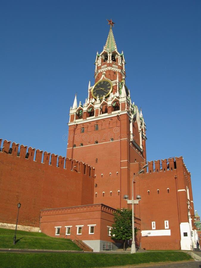 grand dos rouge de Moscou photographie stock