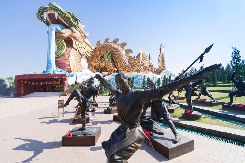 Grand dragon au musée de descendants de dragon photo libre de droits
