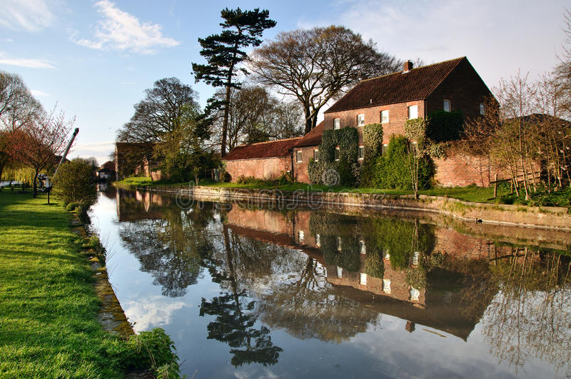 Grand Driffield Yorkshire est Angleterre photographie stock
