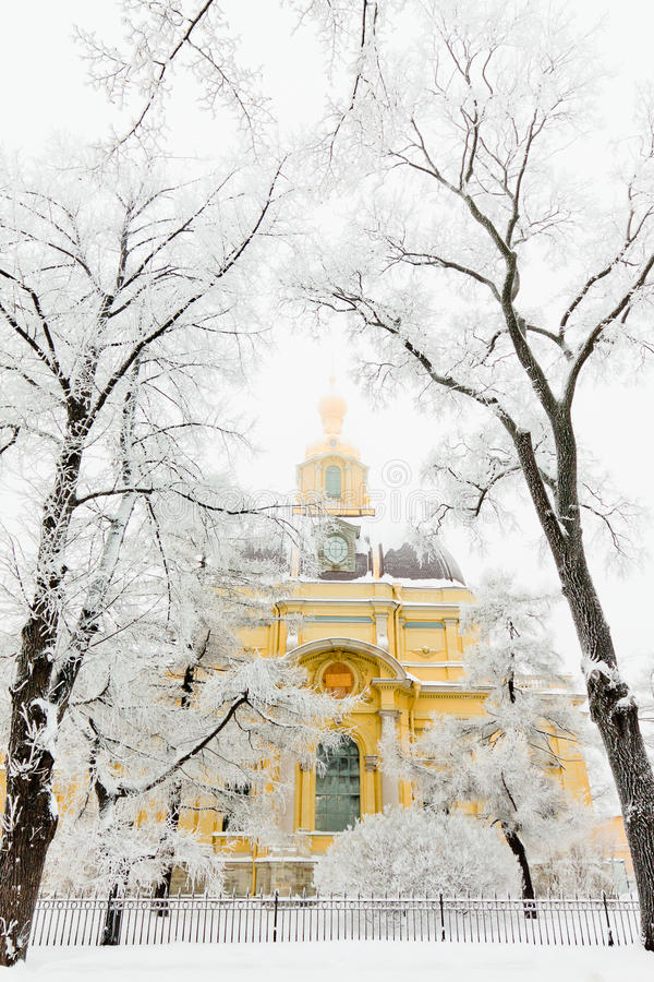 Download Grand Ducal Mausoleum stock photo. Image of white, snow - 23909898