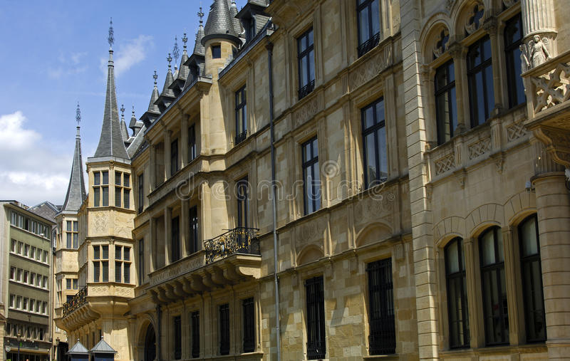 Grand Ducal Palace Luxembourg stock photo