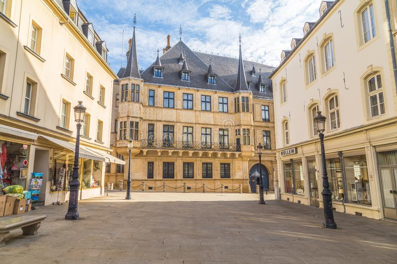 Grand Ducal Palace, Luxembourg stock photos