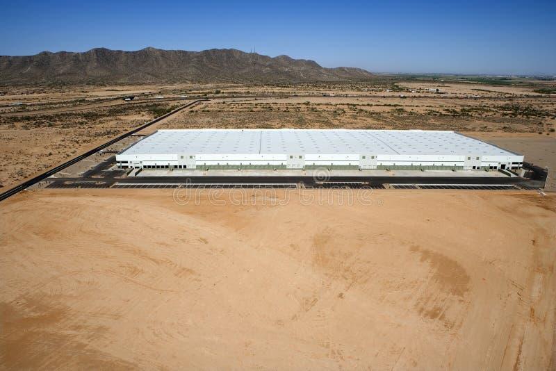 Grand entrepôt de distribution photo libre de droits