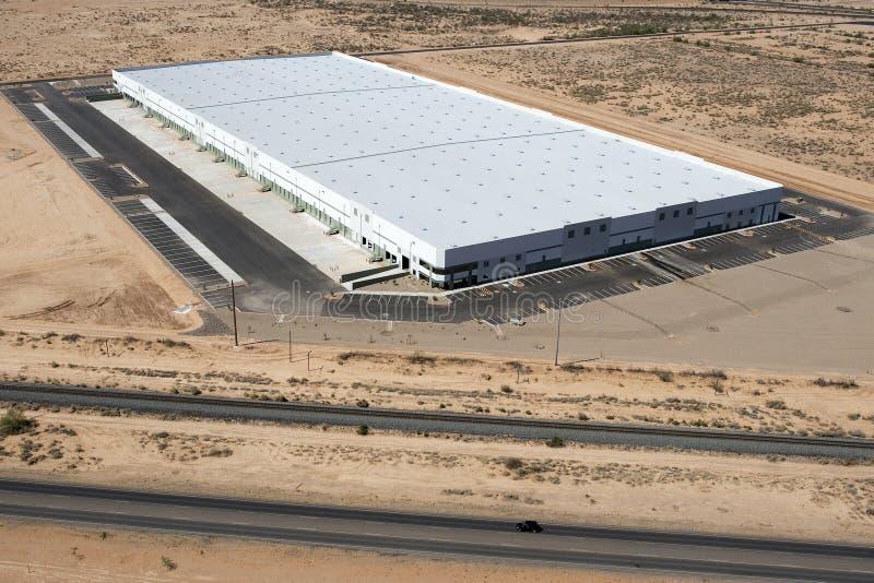 Grand entrepôt de distribution photographie stock