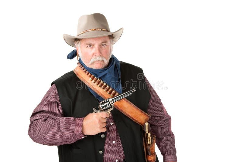 Grand et dur cowboy photos stock
