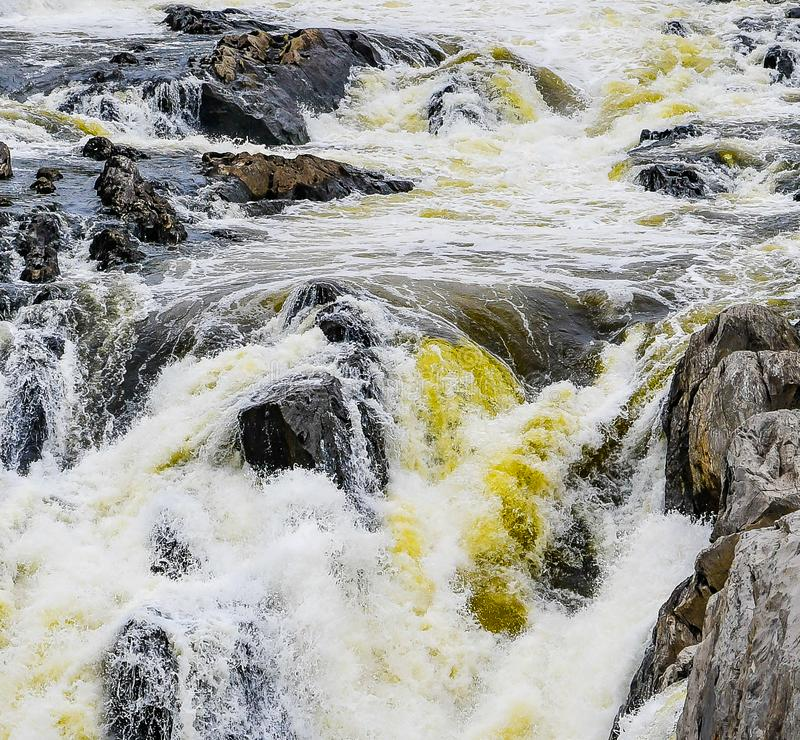 Into the Grand Falls royalty free stock photography