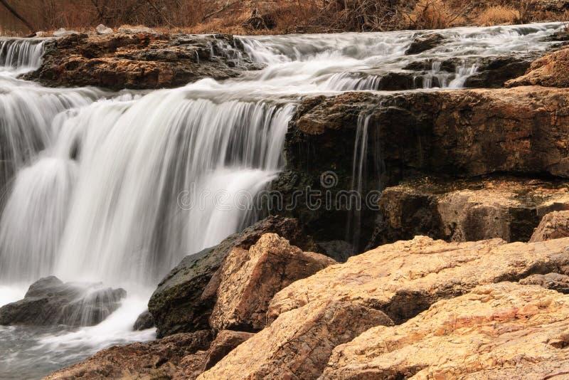 Grand Falls Waterfall in Missouri royalty free stock photo